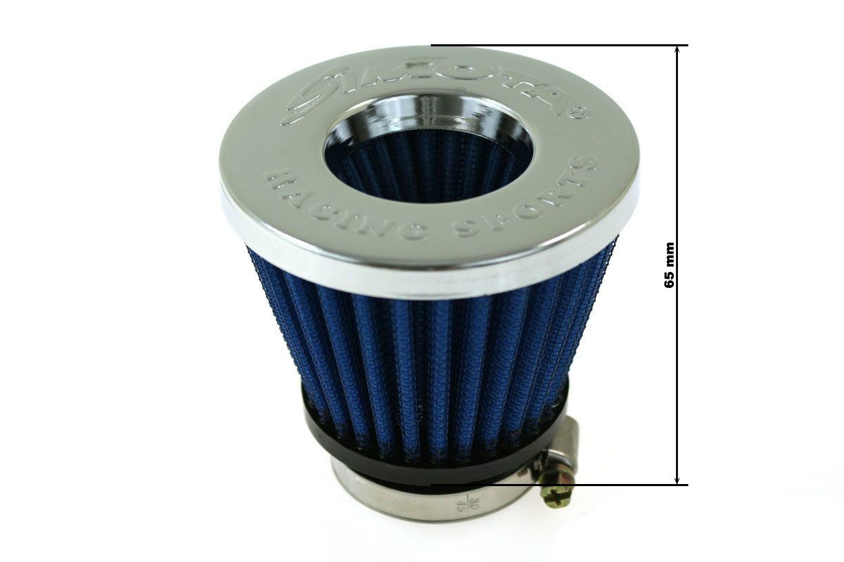 Moto Filtr stożkowy SIMOTA 50mm JAU-ME32209-20 - GRUBYGARAGE - Sklep Tuningowy